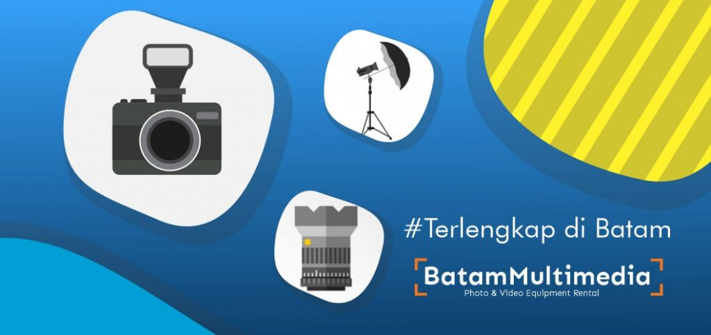 Sewa Kamera Video Photo Equipment Professional di Batam