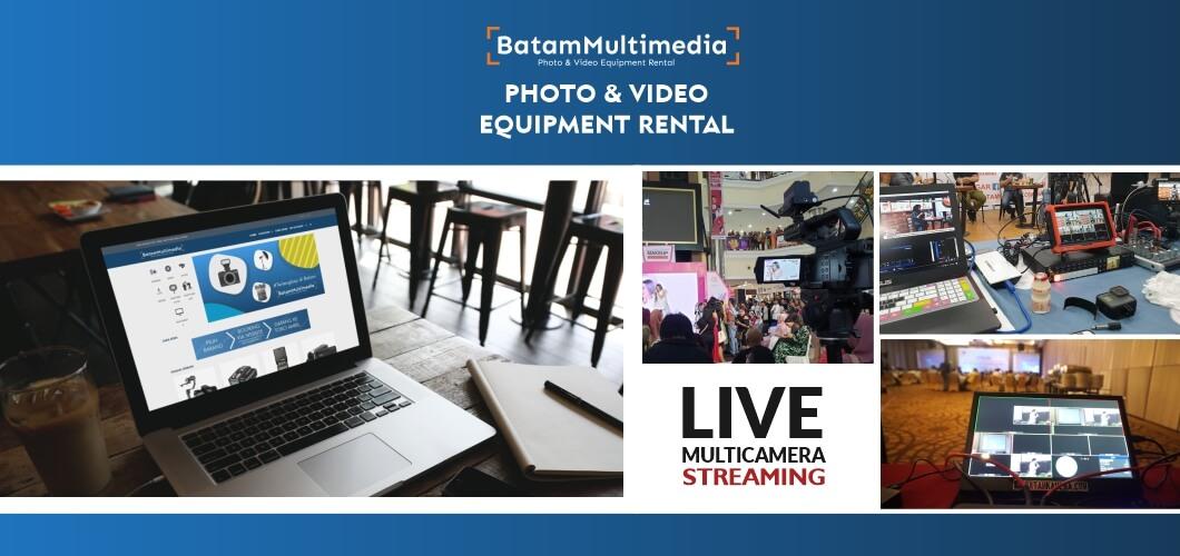 Jasa Video Live Streaming Event Batam