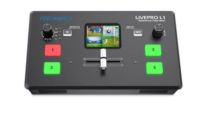Live Streaming Video Switcher