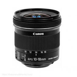 Sewa Lensa Canon Wide 10-18mm Batam